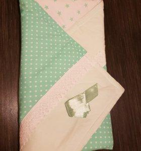 Одеяло детское хлопковое (на выписку)