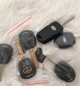 Заготовки ключа на разные автомобили