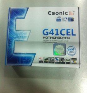 материнская плата g41-m-combo,soc-775