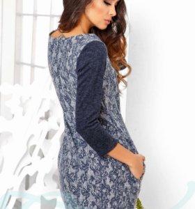 Шерстяное платье новое