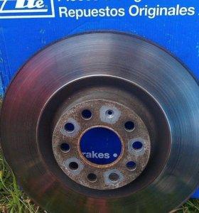 Тормозные диски 345мм 1K0615301M