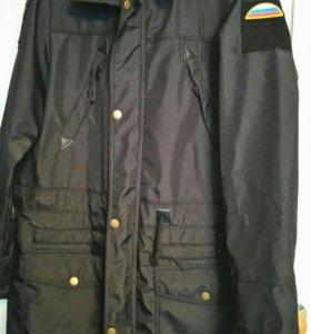 Куртка-плащ военная
