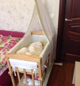 Кроватка колыбель roba