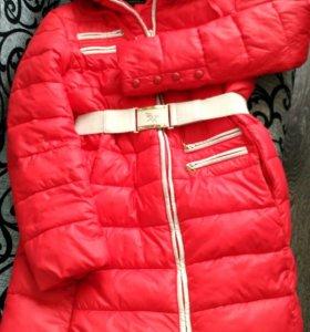 КУРТКА зимняя удлиненная + шарф