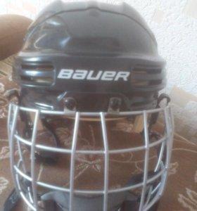 Шлем хоккейный Bauer ,маска.