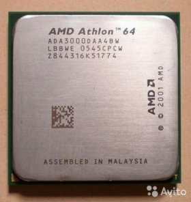Процессор AMD Athlon 64 3000+Socket 939