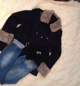 Пальто фирмы Тopshop