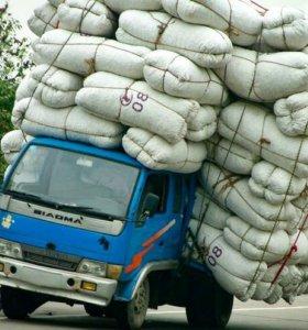 Грузоперевозки буксировка вывоз мусора