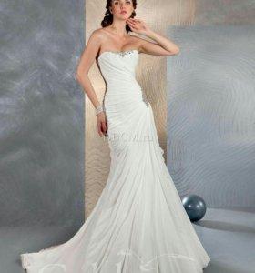 Свадебное платье+болеро в ПОДАРОК