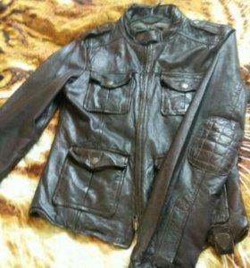 Куртка натуральная кожа Tigha