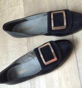 Кожаные туфли Salamander