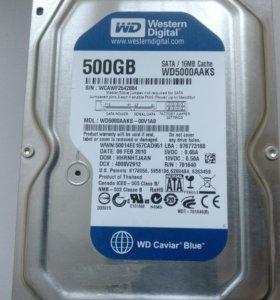 Жестки диск wd500 gb