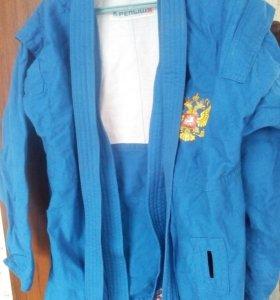 Куртка и обувь для самбо