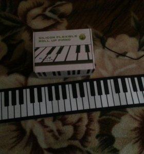Селиконовая midi клавиатура