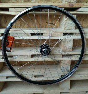 Колесо для велосипеда 26 дюймов под диск 6-8ск