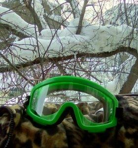 Очки горнолыжные, сноубордические, защитные