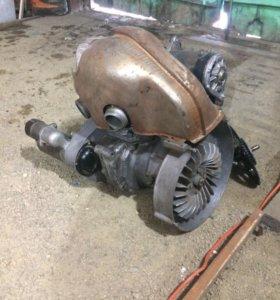Двигатель мотоколяски