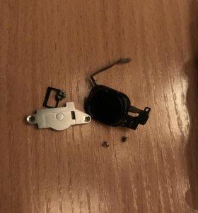 Кнопка home черного цвета 5s