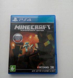 Продам Диск MINECRAFT Для PlayStation 4