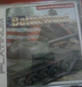 Диск с компьюторной игрой battlefront