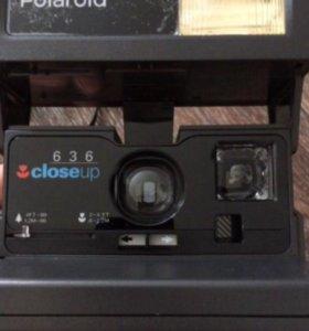 Ретро-Фотоаппарат Polaroid 636