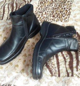 Ботинки Мужские, размер 38 (новые).