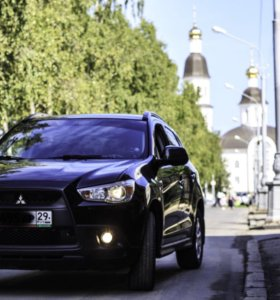 Аренда  Mitsubishi с добрым  и веселым водителем