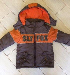 Куртка осень- весна на мальчика 92 р