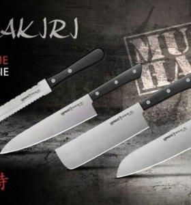 Набор из 4х кухонных ножей Samura Harakiri