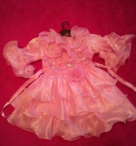 Два платья на девочку 1-3 года