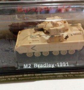 Танк м2 Bradley 1991 коллекционная модель