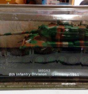 Танк M60A3 Germany 1985 коллекционная модель