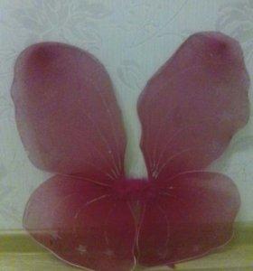 Крылышки феи для маленькой принцесы