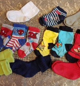 Фирменные носки Mothercare.19-23 разм.