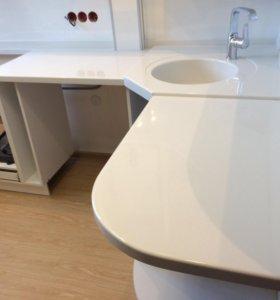 Кухонные столешницы, барные стойки, подоконники