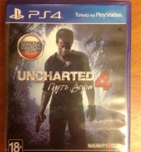 игра uncharted 4 на ps4