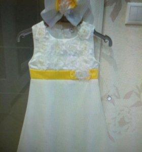 Нарядное платье, р. 104-110