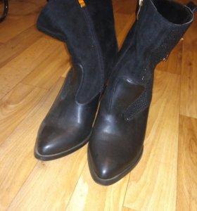 Ботинки в идеальном состоянии,одевала 1 раз