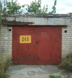Капитальный кирпичный гараж