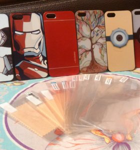 Чехлы iPhone 5/5s и плёнки