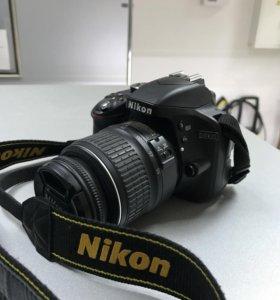 Зеркальный фотоаппарат Nikon d3300kit