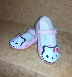 Туфельки для девочки)