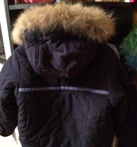 Куртка на мальчика аляска очень тёплая рост116торг