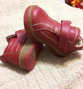 Весенние ботиночки на малышку