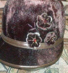 Шляпка женская, б/у 2 раза.