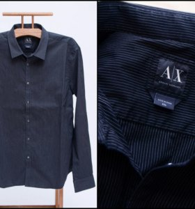 Рубашка мужская на кнопках ARMANI EXCHANGE