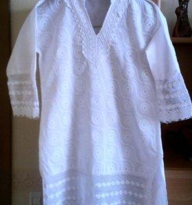 Туника-платье. Новая. Индия.