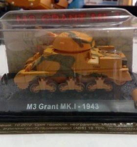 Танк M3 Grant MK.II 1943 коллекционная модель