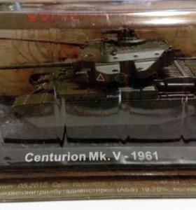 Танк Centurion MK.V 1961 коллекционная модель