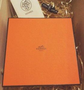 Подарочная коробка и пыльник Hermes (оригинал)